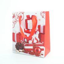 Karácsonyi Díszzacskó Dísztasak 11x13,5cm