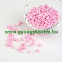 Rózsaszín Kásagyöngy 4-4,5mm 4/0 10gr