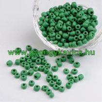 Zöld Kásagyöngy 4-4,5mm 4/0 10gr