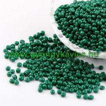 Zöld Kásagyöngy 3-3,5mm 6/0 10gr
