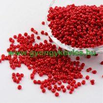 Piros Kásagyöngy 2,7-3,3mm 7/0 10gr