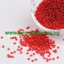 Piros Kásagyöngy 2mm 10/0 10gr
