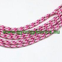 Rózsaszín Parakord Zsinór Hajókötél 4mm (1m)