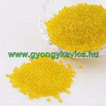 Sárga Színű Kásagyöngy 2,1mm 10/0 10gr
