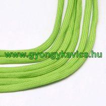 Zöld Parakord Zsinór 4mm (1m)
