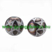 Bronz Csillag Üveggyöngy Nyaklánc Karkötő Ékszer Dísz Közdarab Köztes 8mm