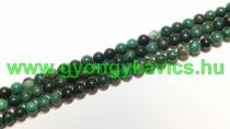 Afrikai Zöld Jade (2) Ásványgyöngy Gyöngyfüzér 6mm