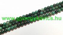 Afrikai Zöld Jade (2) Ásványgyöngy 6mm