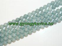 Akvamarin Jade Ásványgyöngy Gyöngyfüzér 12mm