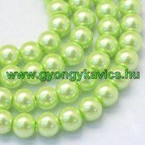 Almazöld Zöld Szintetikus Kagyló Gyöngy Gyöngyfüzér 8mm