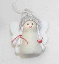 Angyal Karácsonyfadísz 6,5cm