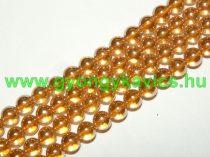 Arany Angyal Aura Kvarc Ásványgyöngy 10mm