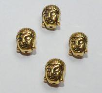 Arany Színű Buddha Nyaklánc Karkötő Ékszer Dísz Közdarab Köztes 11mm