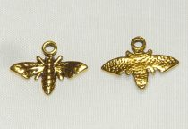 Arany Színű Darázs Méhecske Medál Köztes 13,3x17mm