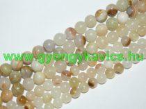 Arany Jade Ásványgyöngy 8mm
