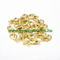 Arany Színű Nyaklánc Karkötő Ékszer Kapocs 12mm