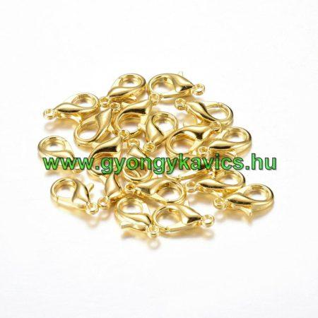 Arany Színű Nyaklánc Karkötő Ékszer Kapocs 15mm