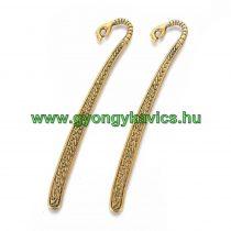Arany Színű Kéz Könyvjelző 12cm