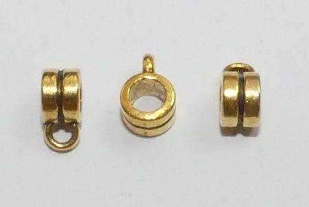 Arany Színű Medáltartó Nyaklánc Karkötő Ékszer Dísz Közdarab Köztes 6mm