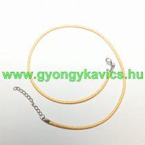 Aranysárga (2) Kord Nyaklánc 46cm