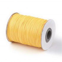 Aranysárga (7) Viaszolt Kordszál 1.0mm 1mm 1m