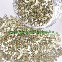 Arany Színű Üvegtörmelék 2-5x1-5mm 20g