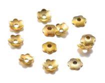 Arany Színű Virág Nyaklánc Karkötő Ékszer Dísz Gyöngykupak Köztes 4mm
