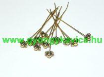 Arany Színű Virágos Nyaklánc Karkötő Ékszer Szerelőpálca 54x7,5mm