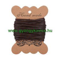 Barna (14) Bőrszál 1,5mm 1m