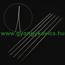 Befűző Gyöngyfűző Tű Damil, Fonál Befűzéshez 12,5cm