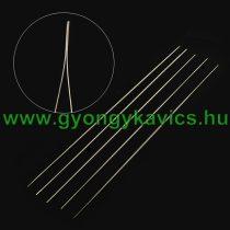 Befűző Gyöngyfűző Tű Damil, Fonál Befűzéshez 5,5cm
