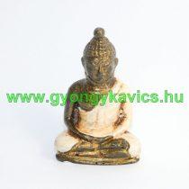 Bézs Arany Színű Buddha Figura Szobor