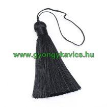 Ékszer Nyaklánc Bojt 8,5cm Hosszú Fekete (1)