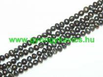 Bronzbarna Kagyló Gyöngy Gyöngyfüzér 4-6x4-5mm