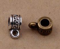 Bronz Színű Görögmintás Medáltartó Nyaklánc Karkötő Ékszer Dísz Közdarab Köztes 6mm