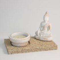 Buddha Mécsestartó 12x7x9cm