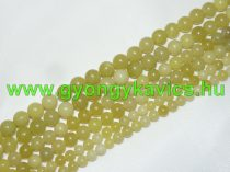 Citrom Jade Ásványgyöngy 6mm