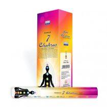 Darshan 7 Csakra 7 Chakras Füstölő