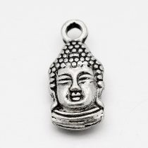 Ezüst Színű Buddha Medál 15,6x7,5x4mm