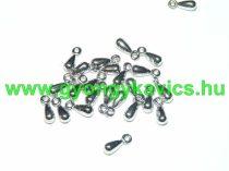 Ezüst Színű Műanyag Nyaklánc Karkötő Ékszer Csüngő 11x4mm