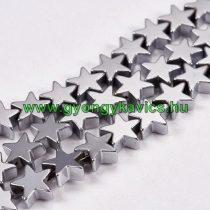 Ezüst Hematit Csillag Ásványgyöngy 6mm