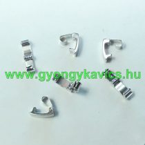 Ezüst Színű Karkötő Ékszer Kapocs 10x4mm