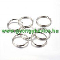 Ezüst Színű Kulcstartó Karika 30mm