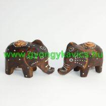 Fa Elefánt Figura Szobor