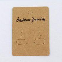 Árazócimke Ékszercimke Fashion Jewelry Fülbevaló 67x50mm