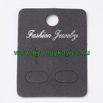 Fekete Árazócimke Ékszercimke Fashion Jewelry 45x32mm