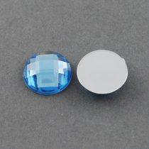 Fazettált Kék Akril Kaboson 8mm