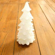 Fehér Fenyőfa Karácsonyfa Gyertya 20cm