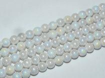 Fehér Kerámia Gyöngy 8,5mm