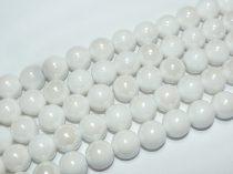 Fehér Porcelán Gyöngyház Gyöngy 8mm